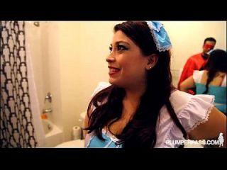 busty gorda latina bbw lola exuberante cosplay para halloween