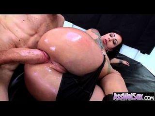 caliente chica culo obtener su enorme detrás de aceite y clavado profundo video 11