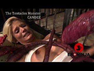 los tentáculos monstruo candee licious