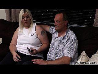 ella deja y marido engañando con bbw rubia