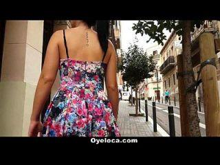 oyeloca Spanish slut obtiene coño y culo follada