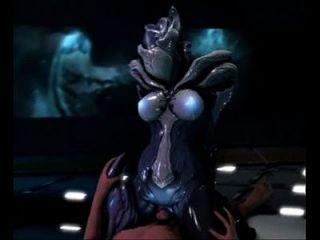 3d alien coño paseos gallo humano