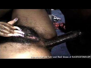 perky tit joven peludo bush chica negro ama una cogida anal duro de polla masiva