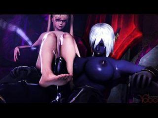 Escena porno 3d