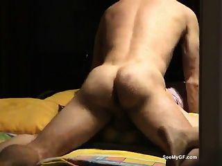 Gf da mamada y se hace sexo anal