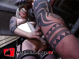 Bizarr, geiler intensiver sexo blowjob deluxe
