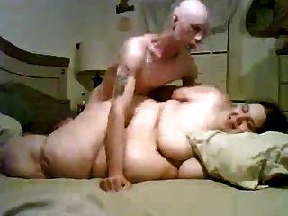 Chico flaco follando su ex gordita gordo ex mujer