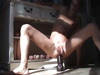 Consolador anal gay juguete enorme jodido