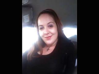 Brotha obtener una cabeza chica blanca en su coche