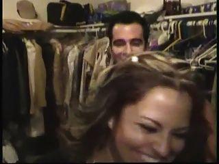 Aficionado cfnm hombre stripper en latina bachelorette partido obtener handjobs y mamadas