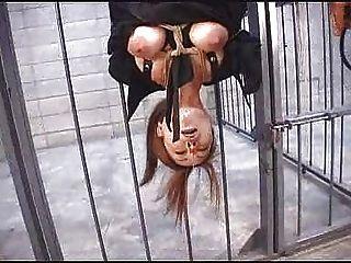 Japanese atado cera jugar dildo nariz clip prendas de ropa atado al revés ... bmw