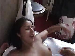 Francesa amateur morena obtiene su primer anal ... f70