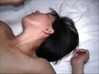 La esposa caliente consigue un marido creampie consigue segundos descuidados