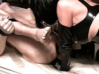 Amante aleman fuck su esclavo