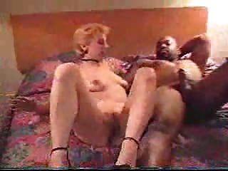 Esposa blanca follando un tipo negro