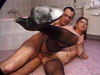Abuelita peluda alemana