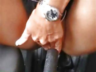 Masturbación alemana con coche