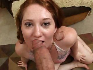 Redhead big butt anal