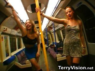 Intermitente en la parte 1 de metro de Londres