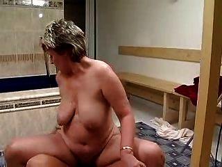 Abuela alemana hardcore