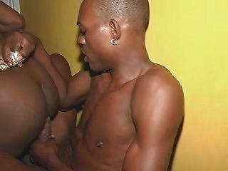 Chica jamaicana jodido muy duro