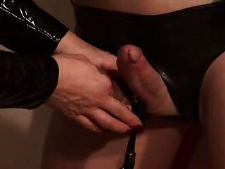 Amante silvia entrena a su doncella