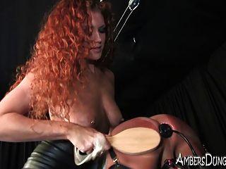 Zorro sabrina frita sus bolas y folla su culo en esclavitud