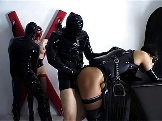 Alex d pferd und reit hard bizzare bdsm latex sex