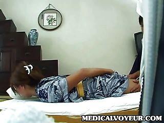 Joven esposa casa masaje parte 1