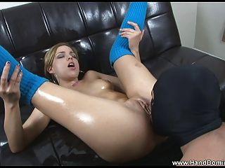 Katja kassin obtiene su culo caliente bombeado duro 5