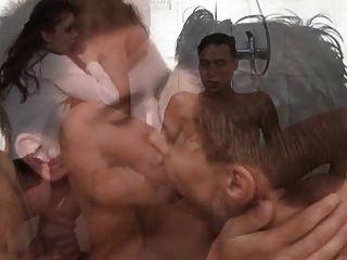 Fiesta de ducha bisexual 1