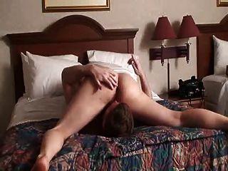 Cara orgasmo en la cama