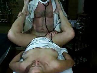 Mujeres córneas obtiene follada por el médico