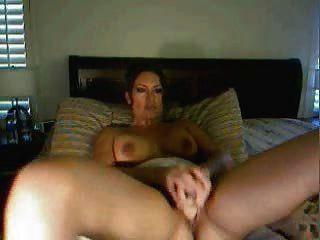 Sexy latina en la webcam show