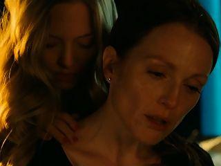 Escena lesbiana de julianne moore y amanda seyfried