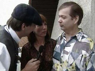 Vieja pareja alemana obtener entrevistado y luego joder
