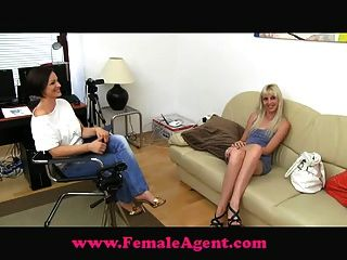 Femaleagent agente femenino vs agente falso