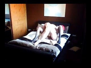 Sexy aficionado tgirl fucking
