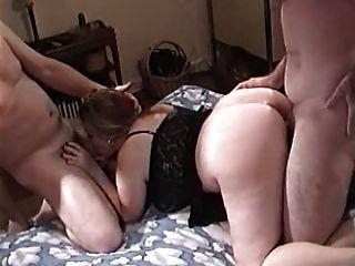 Chubby jodido joven en el anal