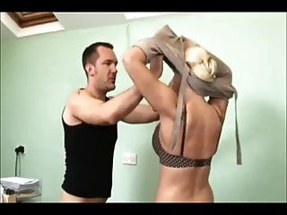 Hot blonde milf creampie