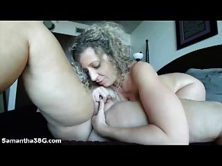 Grandes tit pornstars samantha 38g y sara jay lamer coño