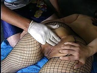 Milf aficionado en follaje anal