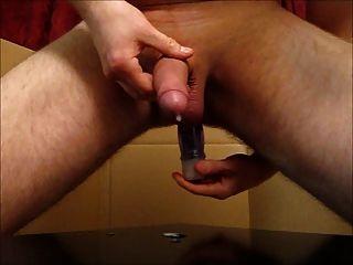 Ordeño de próstata con corrida grande
