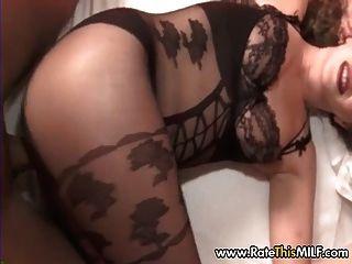 Super caliente suave en las medias del cuerpo crotchless sexo pov