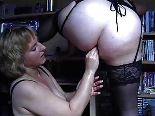 Anal bbw lesbianas puño 1
