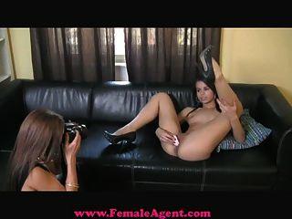 Femaleagent impresionante, sexy y la mía