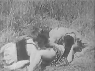 Sexo vintage en la parte de los años 30 por tlh