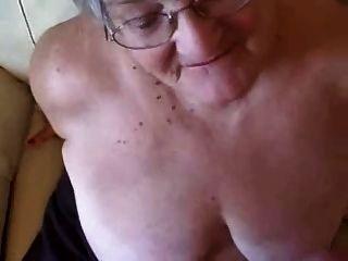 Gran facial en una abuelita de 76 años!aficionado