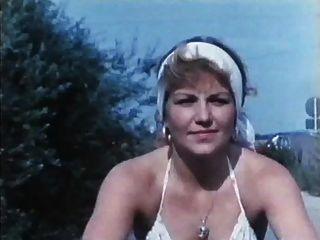 Vintage 70s alemán der verbumste motorrad club jagt geile fuechsin cc79
