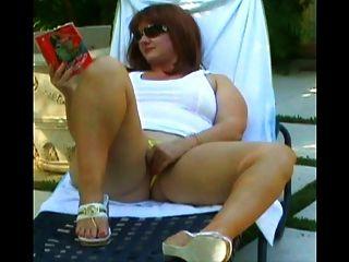 Vecino juega con mi mujer zorra